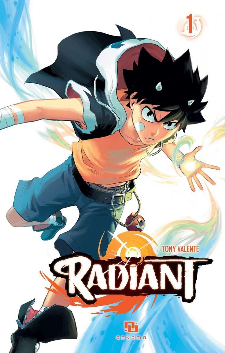 Radiant, série manga (shonen) fantastique de Tony Valente.