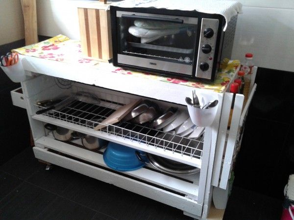 DIY Dish Rack From Pallets - Recyclart