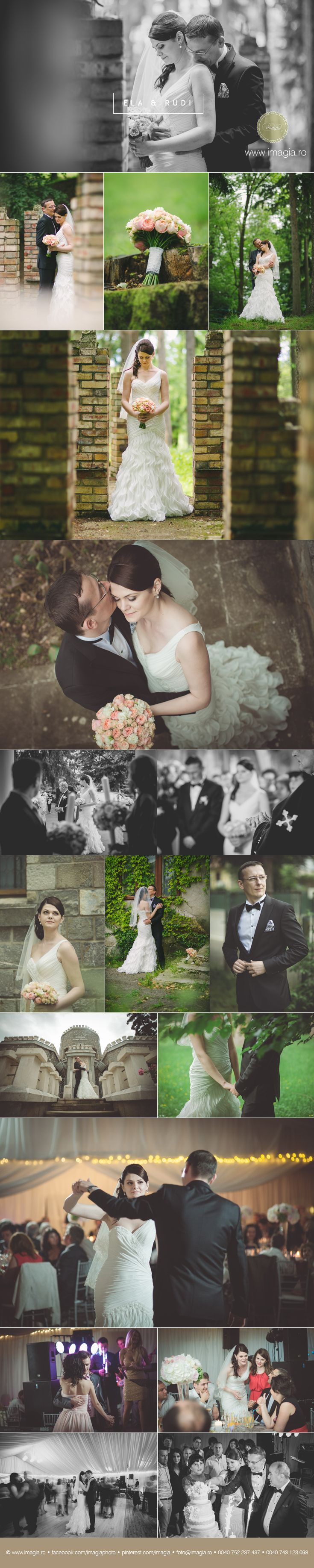 Wedding photos from Campina, Romania - you can find the details here:  http://www.imagia.ro/blogpage/fotografie-de-nunta-in-campina-cu-ela-si-rudi-  © imagia | www.imagia.ro