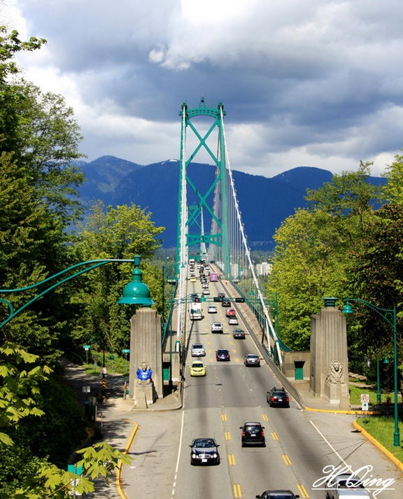 I fell deeply in love with Vancouver, British Columbia. Absolutely beautiful.