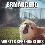 -ERMERGERD!