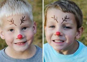 Image Result For Easy Christmas Face Painting Ideas For Kids Christmas Face Painting Face Painting Easy Face Painting