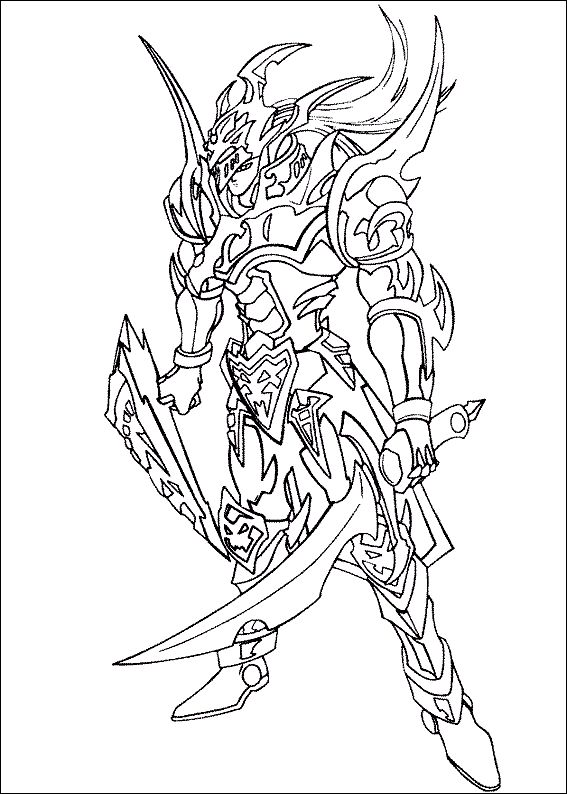yugioh monsters coloring pages free - photo#30
