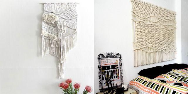 Decorar paredes con tapices ranran design en etoile no 5 lo pinterest - Relojes para decorar paredes ...