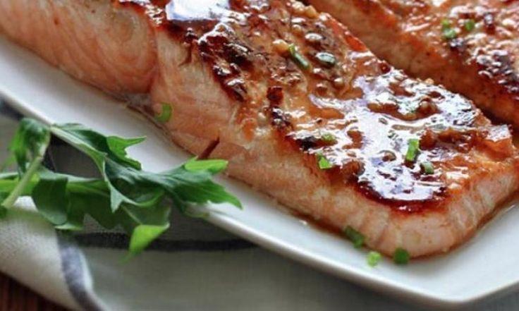 Le saumon miel et ail... Un pur délice!