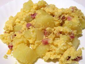 Recetas Monsieur Cuisine: Patatas con huevos y jamón