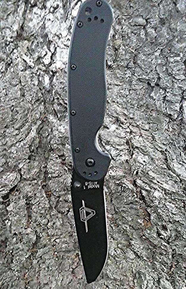 Ontario RAT-1 survival knife