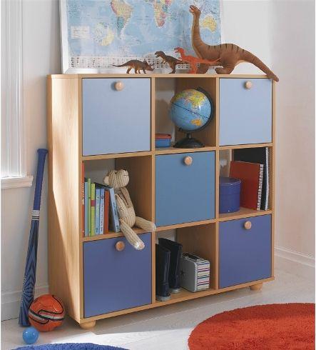 9 Cube Children S Storage Unit