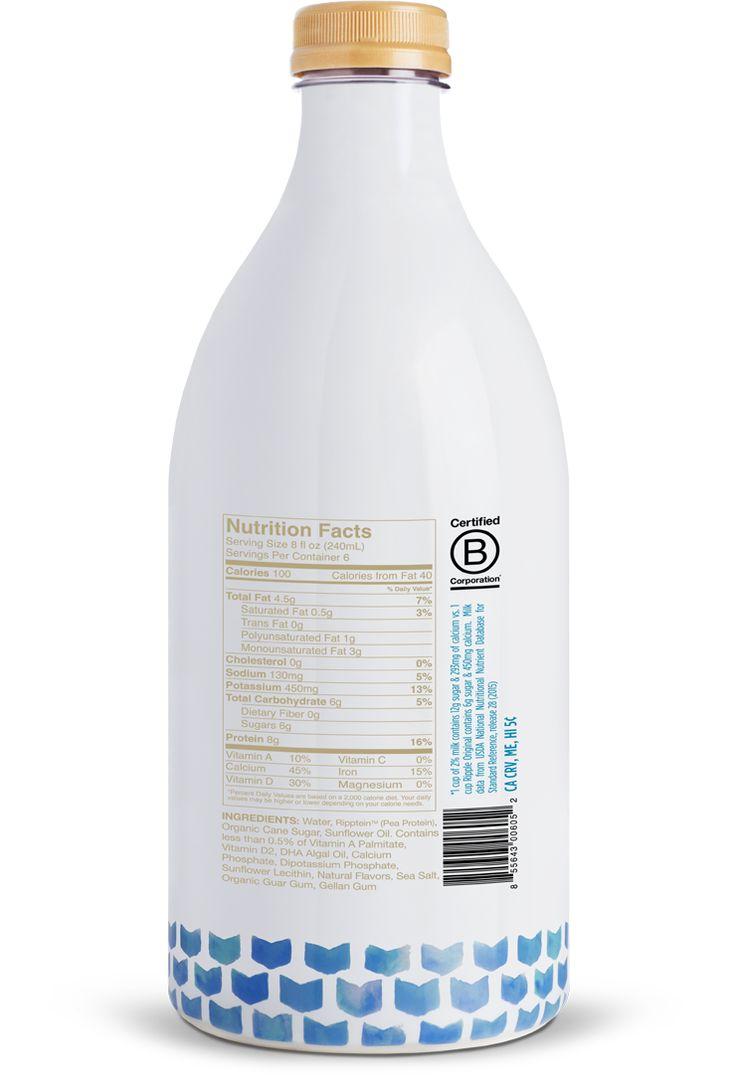 Ripple Foods: Nutritious Pea Milk