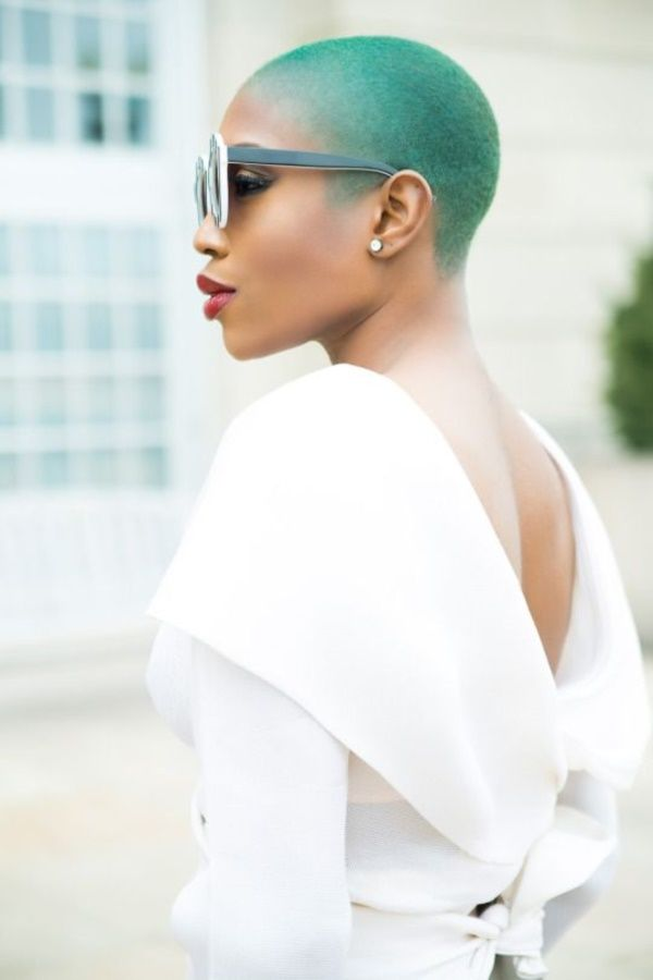 40 Beautiful Bald Women Styles to get inspired with