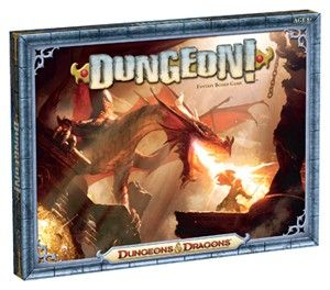 The Dungeons & Dragons: Dungeon! Board Game is a fast-paced game where you and your friends can decide which way to go in the hunt for bigger and better treasure. Will you stick to level 1 and clear out the Goblins and Kobolds? Or will you delve deep into level 6 and set your sights on the Purple Worm or the Red Dragon? Along the way, you'll have to face off against such iconic monsters as the Black Pudding, the Drow, and even the Owlbear!