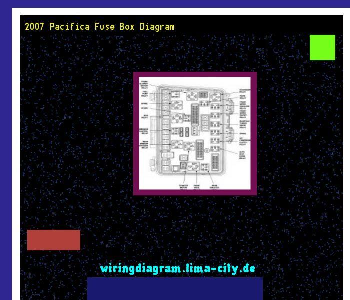 2007 Pacifica Fuse Box Diagram wiring diagrams image