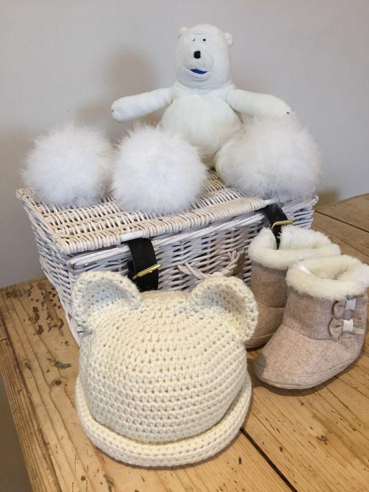 Crochet Club: polar bear hat on the LoveCrochet blog
