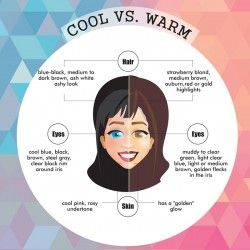 Cool or Warm skin tone analysis. Find your colors and improve your style!