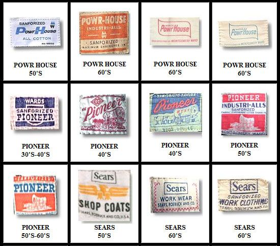 104 best images about vintage clothing tags on