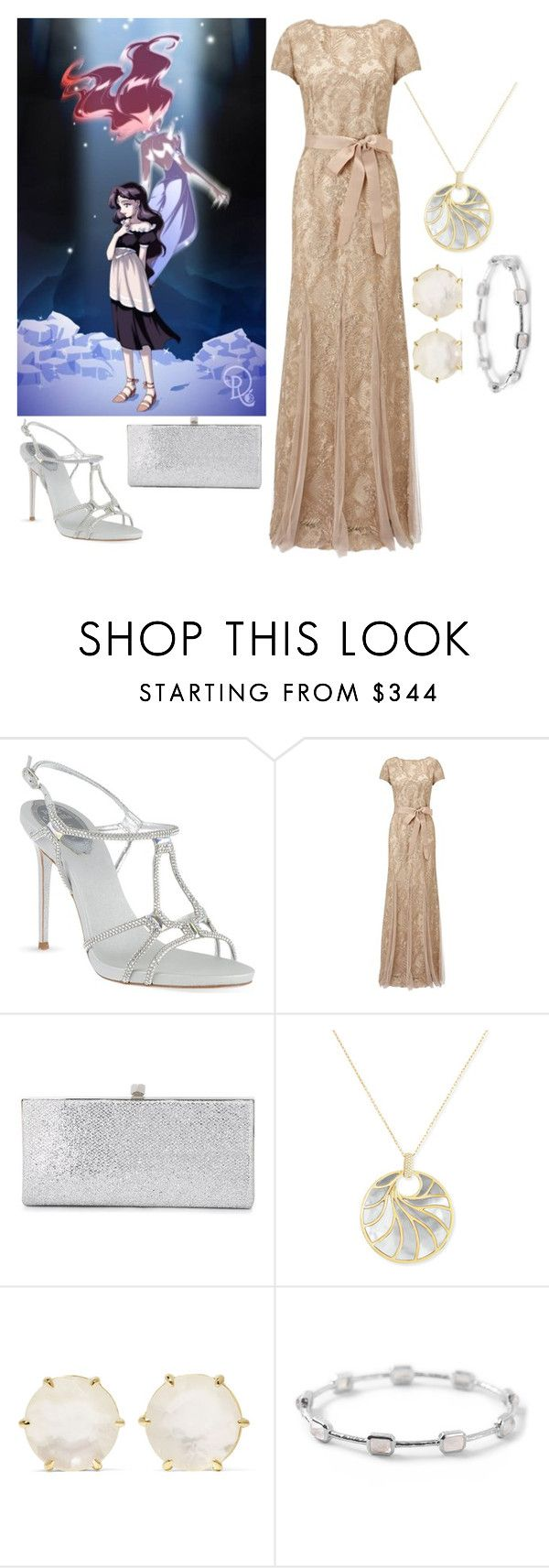 """Pretty Soldier Sailor Moon Dark Kingdom: Human Beryl"" by becka-ramey on Polyvore featuring René Caovilla, Adrianna Papell, Jimmy Choo, Frederic Sage and Ippolita"