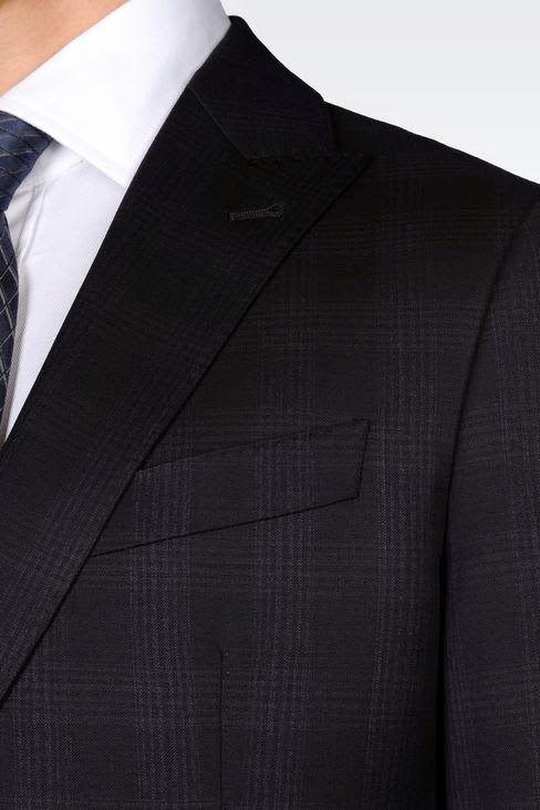 Cultures Hommes: Costume Armani Tartan
