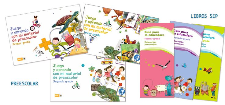Libros de Preescolar de la SEP para descargar gratis en formato PDF - Mexico