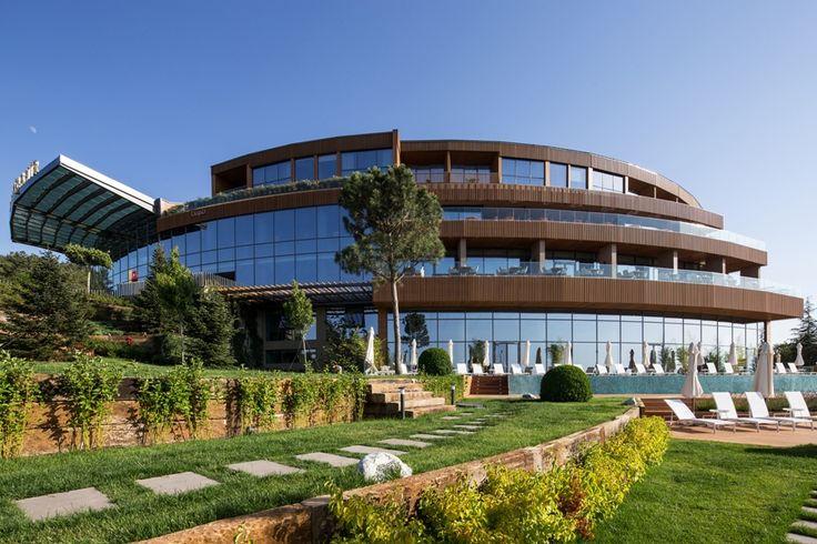 Eskisehir Termal Spa Hotel - Architectural Projects | GAD Architecture #gokhanavcioglu #gadarchitecture #gadfoundation