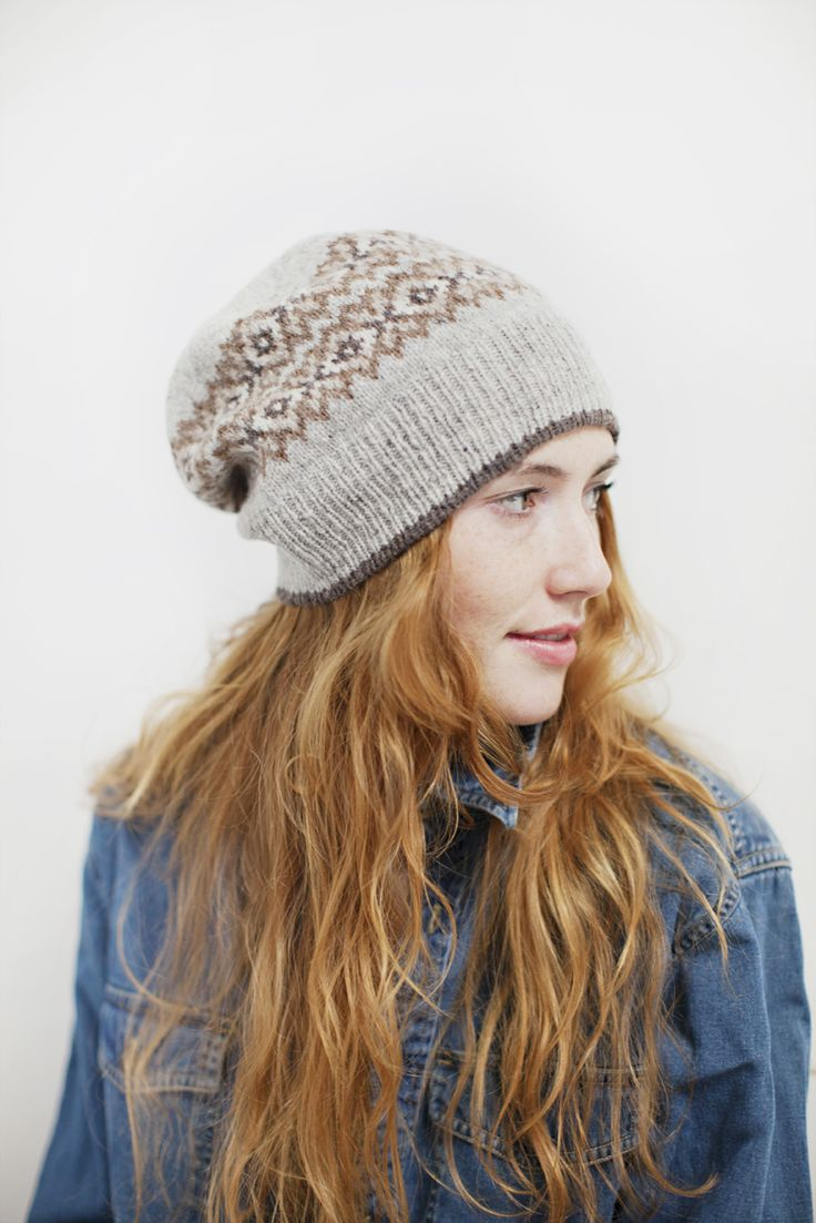 seasons hat (winter version) by jared flood via brooklyntweed