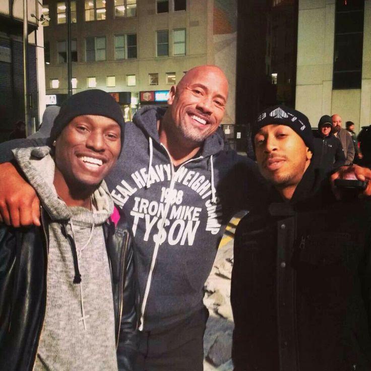 Tyrese , Dwayne, Ludacris