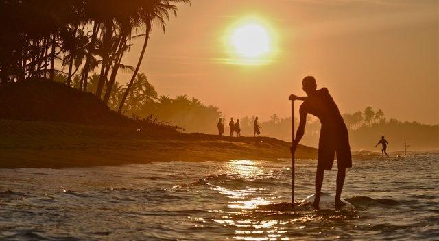 The Blueline / Paddle Surf Hawaii team explores Sri Lanka.