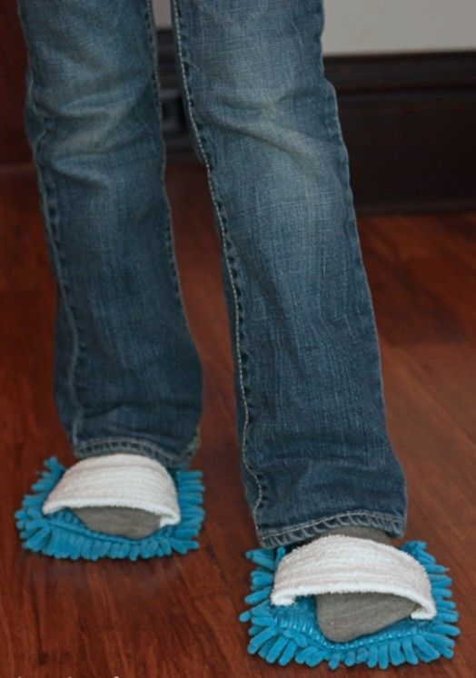 Microfiber Cleaning Slippers