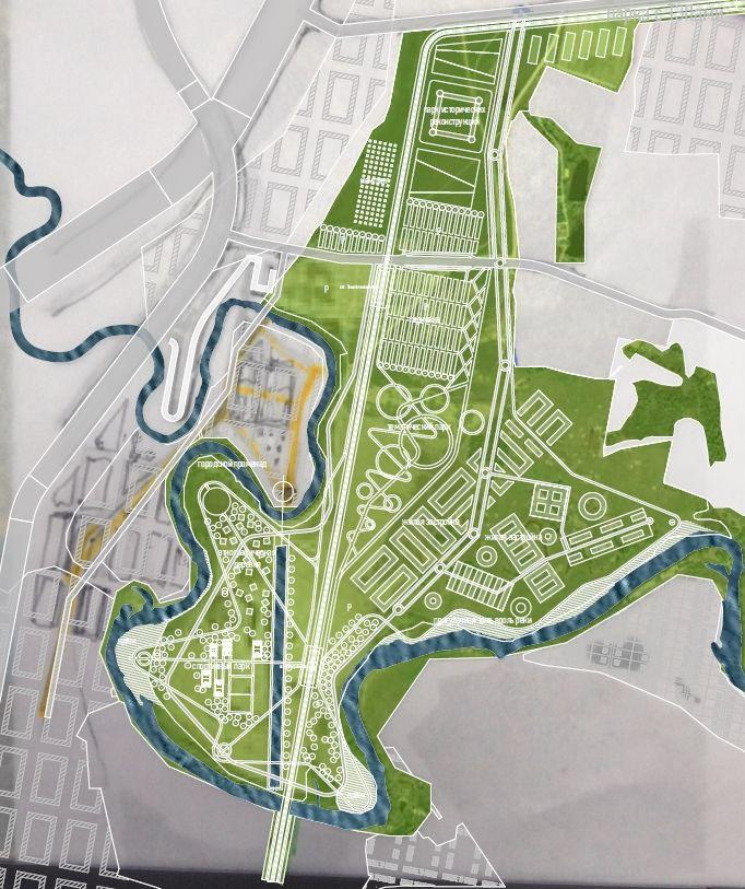 07 05 2014 Park. Concept masterplan