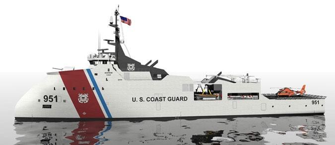 Vigor OPV US Coast Guard ship