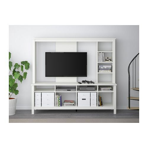 tomn s tv m bel hvit front rooms furniture and ikea tv. Black Bedroom Furniture Sets. Home Design Ideas