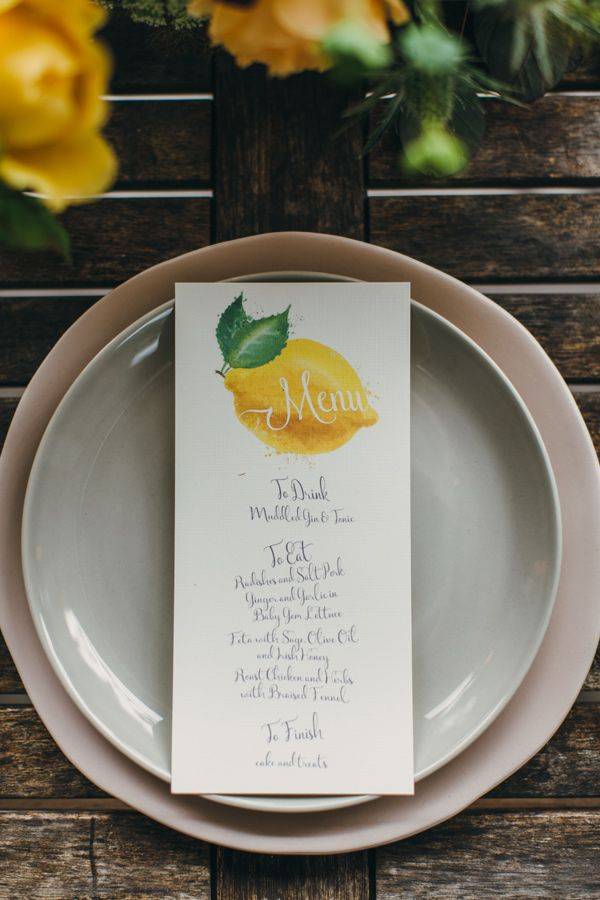 citrus wedding - photo by http://www.paulaohara.com/ http://ruffledblog.com/autumn-wedding-inspiration-in-ireland