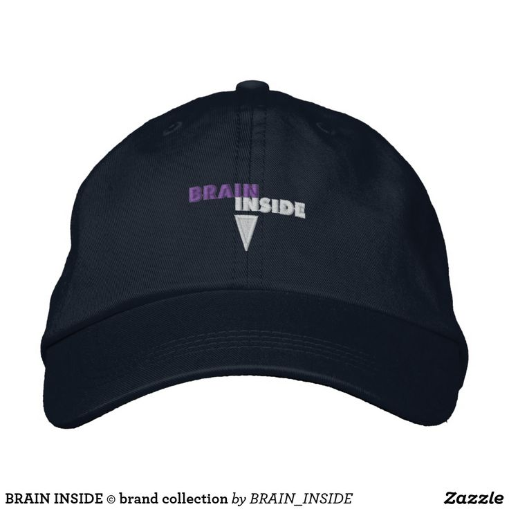 BRAIN INSIDE © brand collection Embroidered Baseball Caps - This one I am going to buy! :)