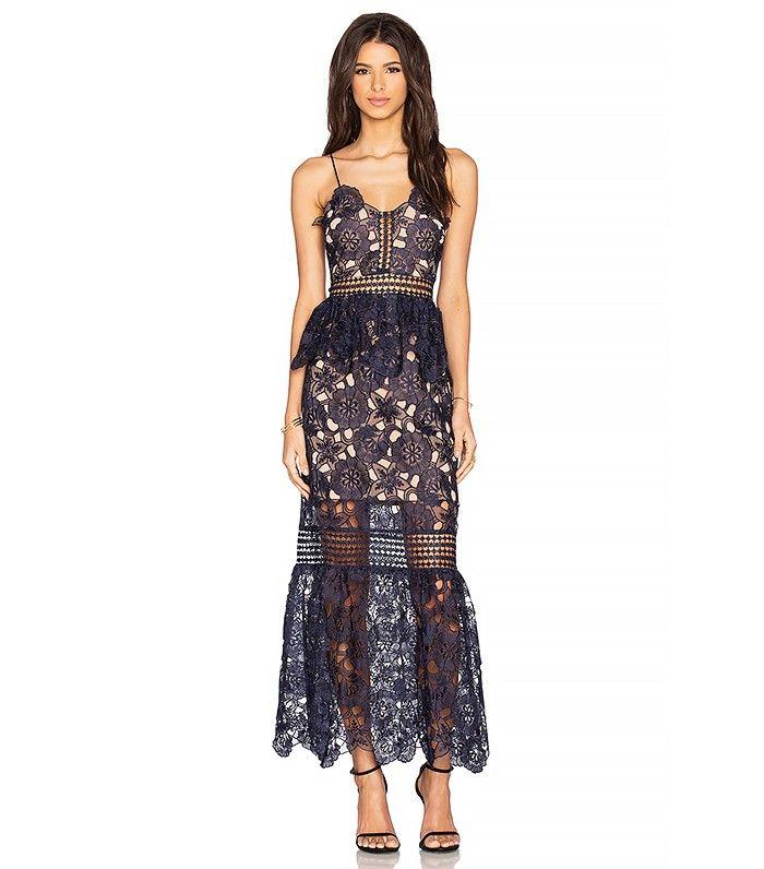 Lauren Conrad's favorite trends in 2016 - Romantic Maxi Dresses. Oh my word this is beautiful!