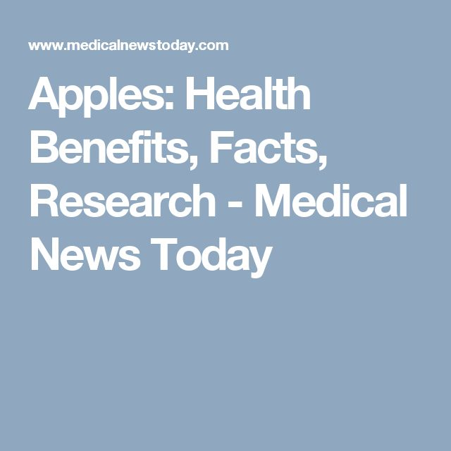 Apples: Health Benefits, Facts, Research - Medical News Today