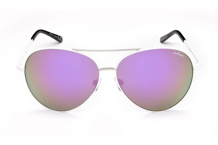 MINX White Lavender   Oversized Aviator   Skye & Lach Eyewear