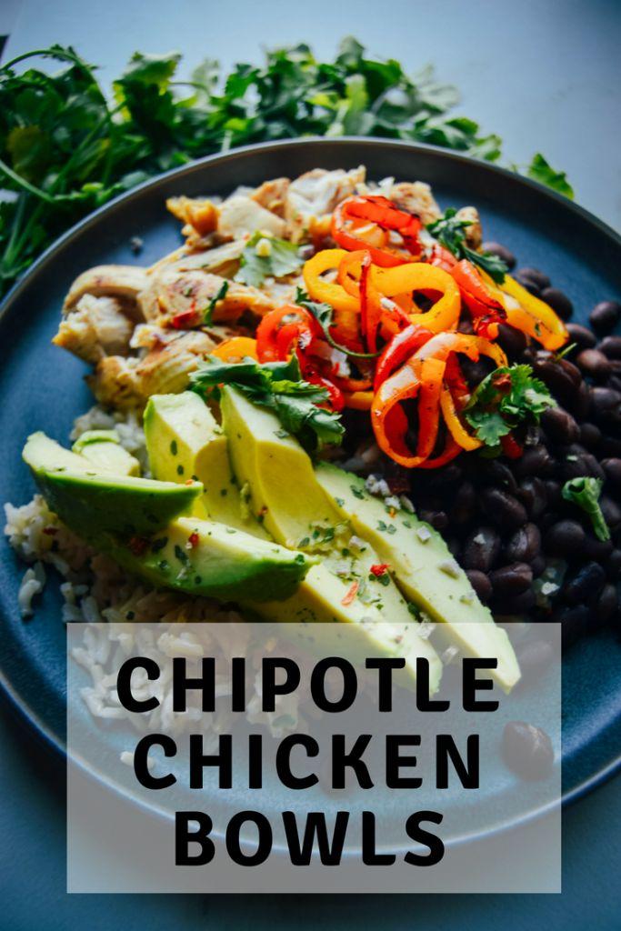 Chipotle Chicken Bowls