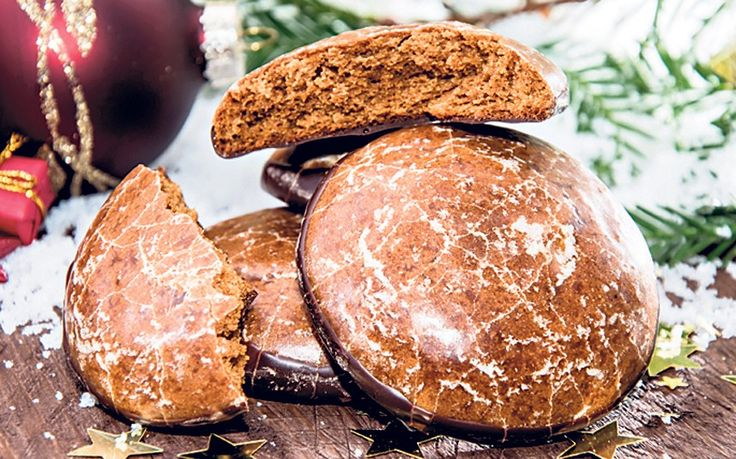 Traditional German lebkuchen, sweet biscuits to make at Christmas with a spicy   kick.
