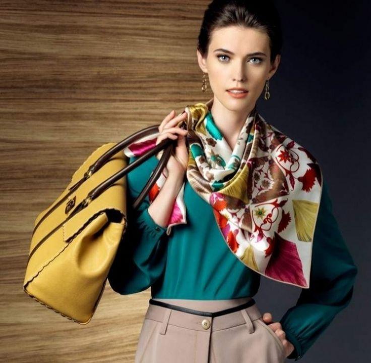 Модный клуб: как правильно подобрать и носить шейный платок