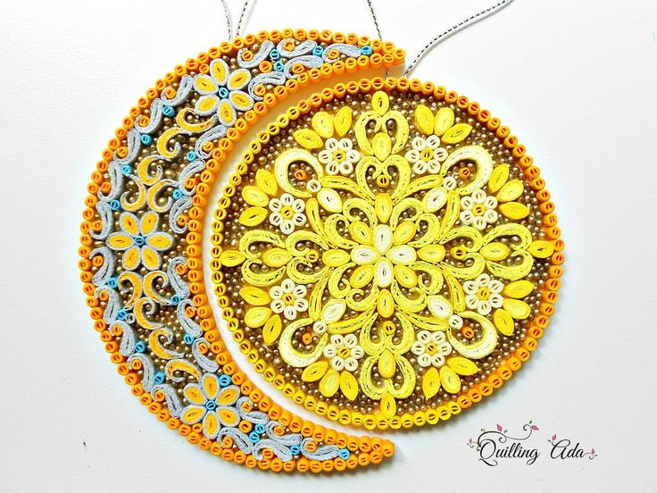 Quilling Sun&Moon