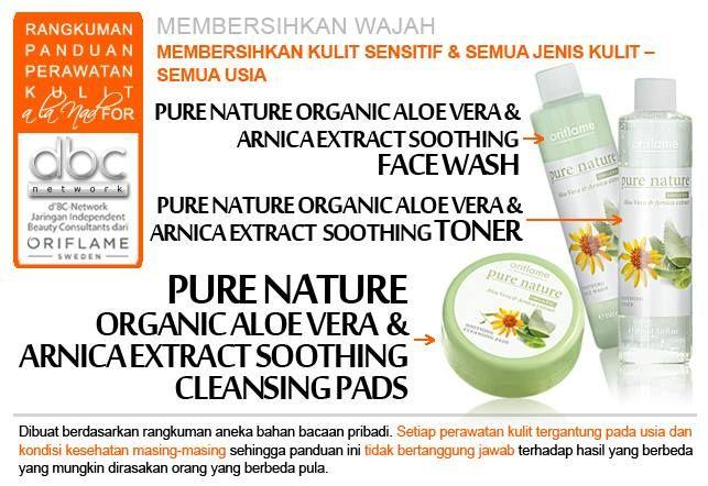 membersihkan kulit sensitif & semua jenis kulit