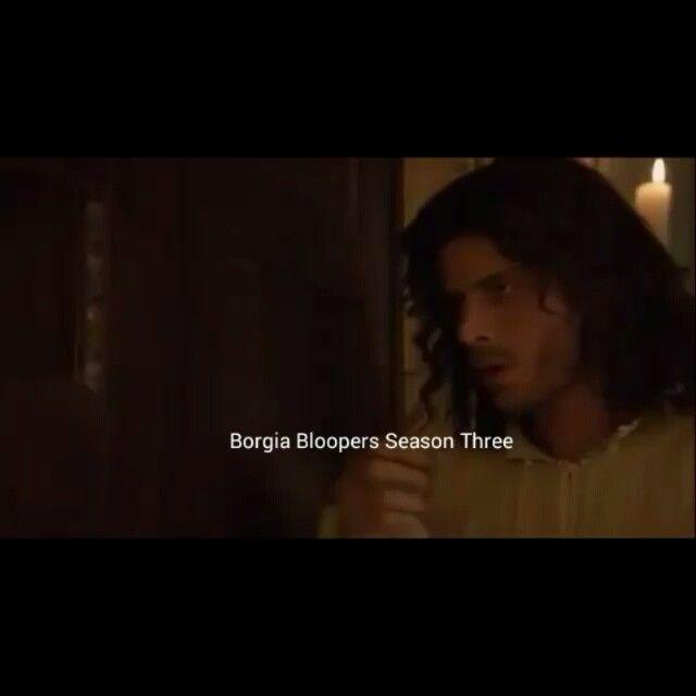 #francoisarnaud #cesareborgia #theborgias # bloopers #season3
