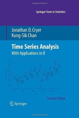 Time Series Analysis: With Applications in R (Springer Texts in Statistics) by Jonathan D. Cryer. $54.42. Author: Jonathan D. Cryer. Publisher: Springer; 2nd edition (October 17, 2008). 505 pages