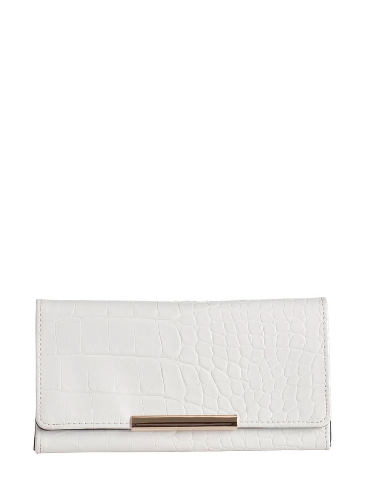 Cartera blanca de Pieces.