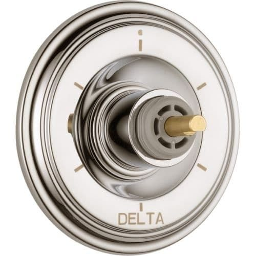 Delta T11997-LHP Cassidy Six Function Diverter Valve Trim - Three Independent Positions, Three Shared Positions - Handles Sold (