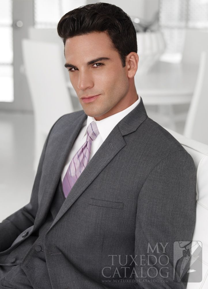 Asheville Tuxedo by Mitchell's - 'Twilight' - Steel/Charcoal Grey - Slim Fit Suit option