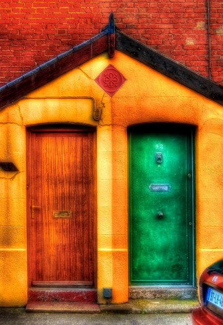 Colorful Doors - Dublin
