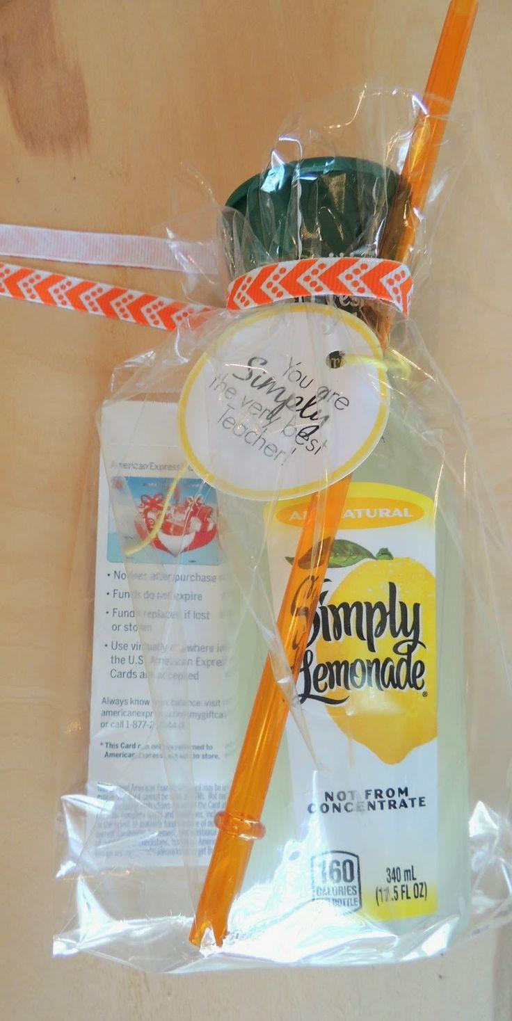 Lemonade teacher gift | Gift ideas | Pinterest | Gifts ...