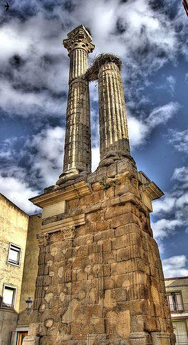 Dístilo de Zalamea de la Serena. Badajoz