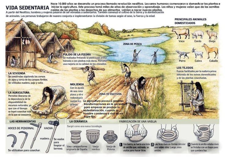 Vida de los hombres primitivos