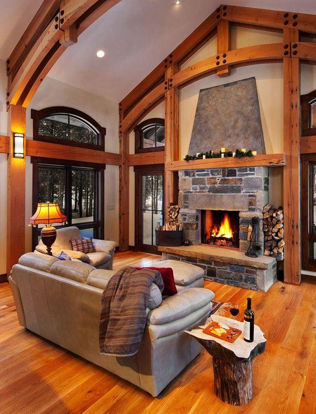 Inspiring Cabin Fireplace Designs - Cabin Life Magazine ...